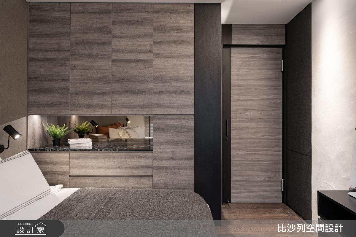 90坪新成屋(5年以下)_現代風臥室案例圖片_比沙列空間設計_比沙列_07之64