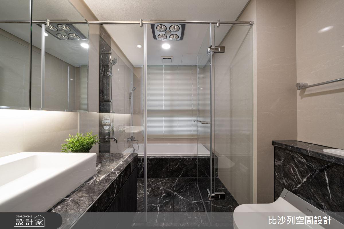 90坪新成屋(5年以下)_現代風浴室案例圖片_比沙列空間設計_比沙列_07之66