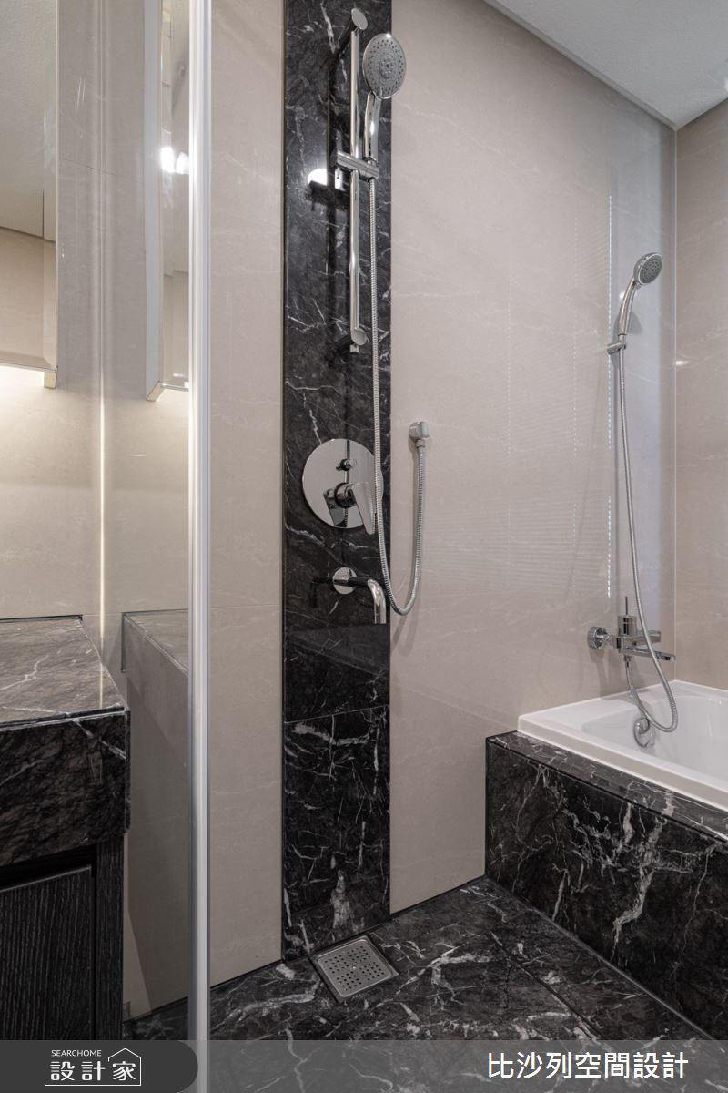 90坪新成屋(5年以下)_現代風浴室案例圖片_比沙列空間設計_比沙列_07之67