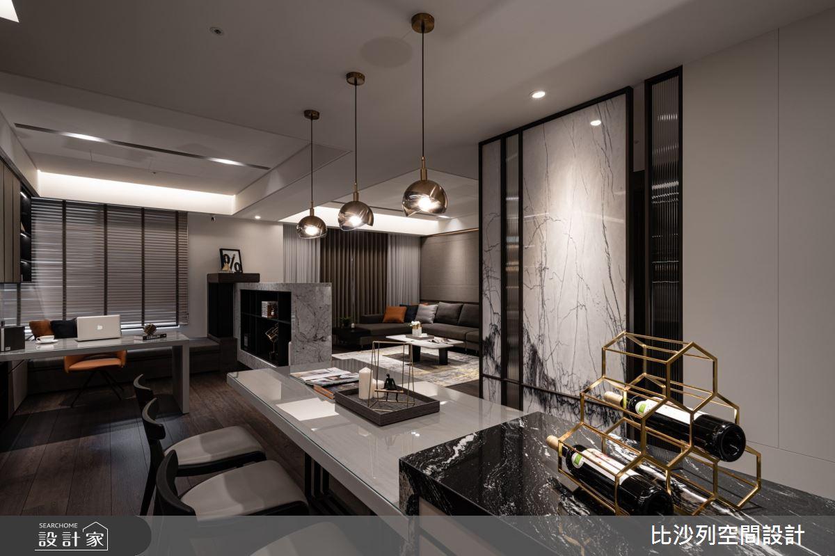 90坪新成屋(5年以下)_現代風餐廳案例圖片_比沙列空間設計_比沙列_07之81