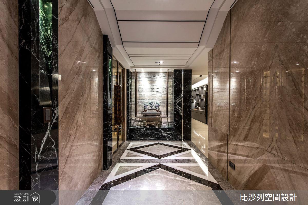 70坪新成屋(5年以下)_現代風玄關案例圖片_比沙列空間設計_比沙列_10之2