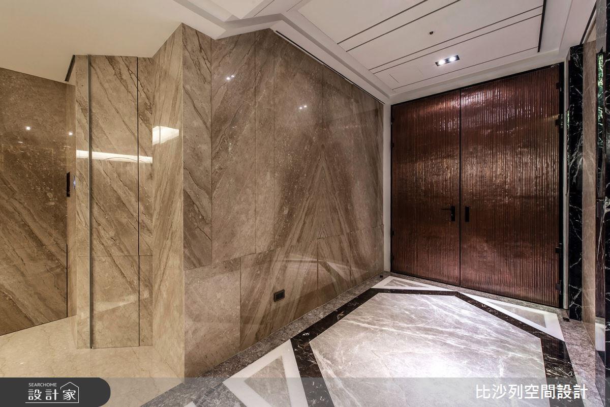 70坪新成屋(5年以下)_現代風玄關案例圖片_比沙列空間設計_比沙列_10之1