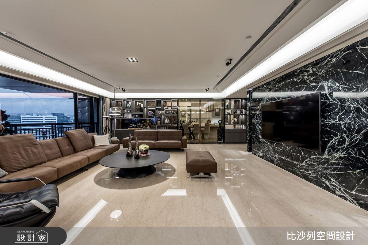70坪新成屋(5年以下)_現代風客廳案例圖片_比沙列空間設計_比沙列_10之4