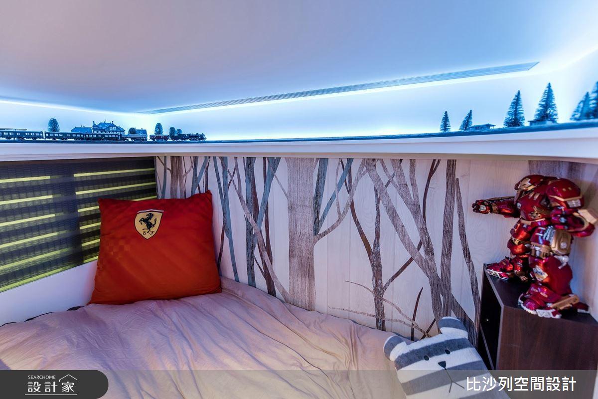 70坪新成屋(5年以下)_現代風臥室案例圖片_比沙列空間設計_比沙列_10之66