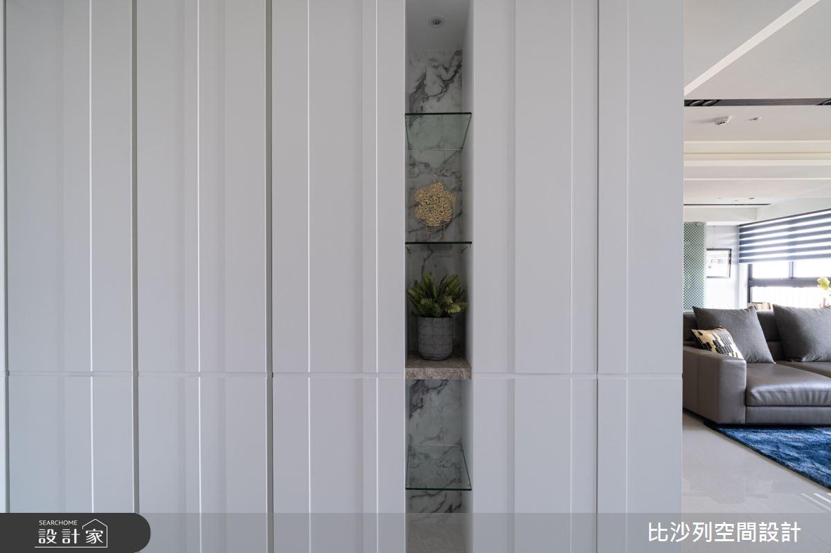70坪新成屋(5年以下)_現代風玄關案例圖片_比沙列空間設計_比沙列_12之3