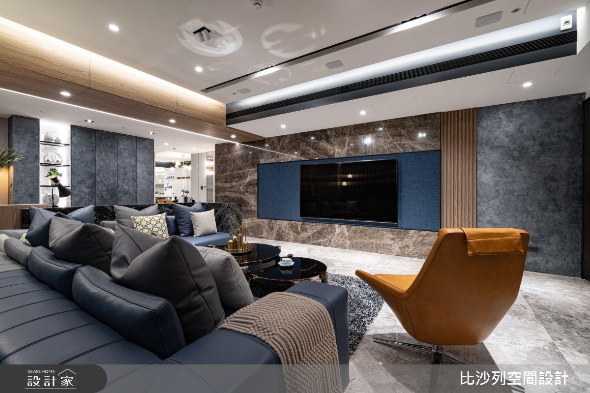 80坪_混搭風客廳案例圖片_比沙列空間設計_比沙列_13之4