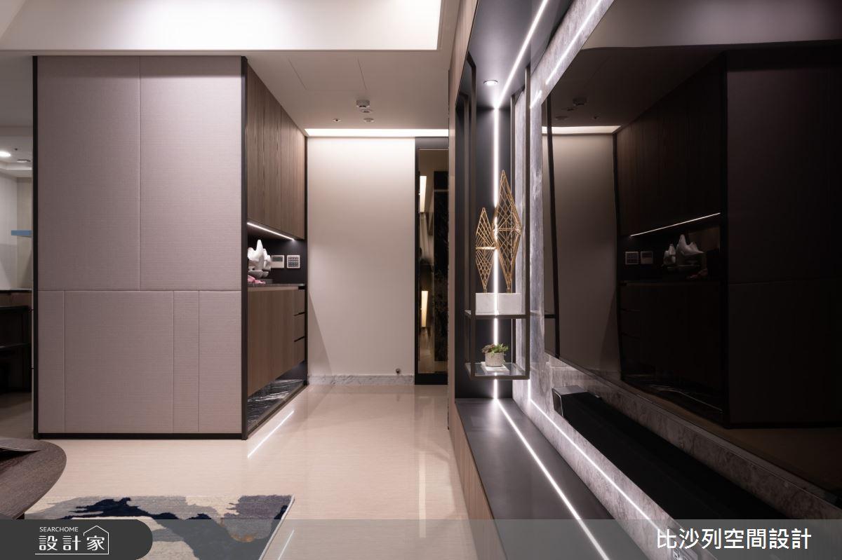55坪新成屋(5年以下)_現代風玄關案例圖片_比沙列空間設計_比沙列_15之2