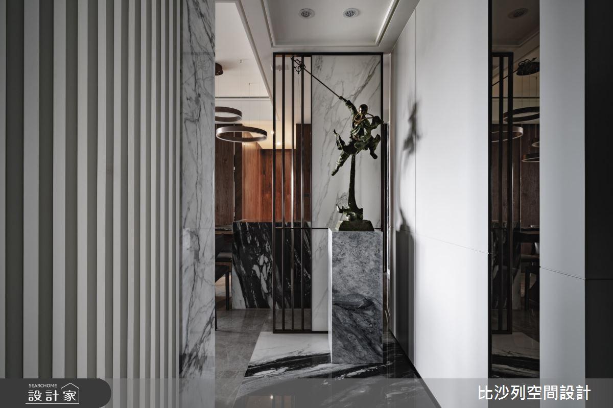 60坪預售屋_混搭風玄關案例圖片_比沙列空間設計_比沙列_17之2