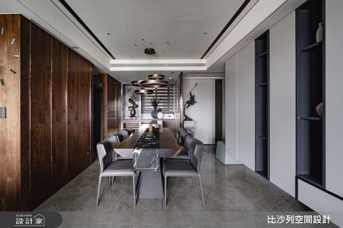 60坪預售屋_混搭風餐廳案例圖片_比沙列空間設計_比沙列_17之3