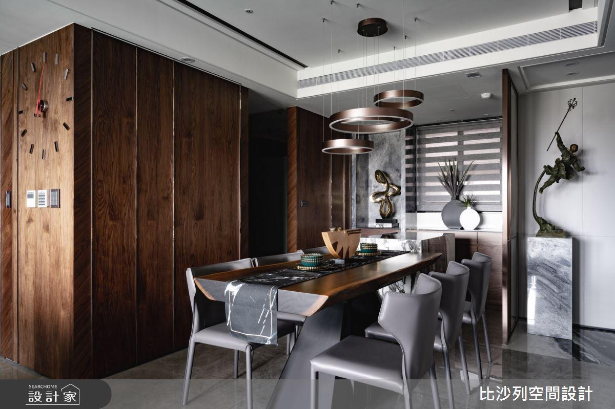 60坪預售屋_混搭風餐廳案例圖片_比沙列空間設計_比沙列_17之4
