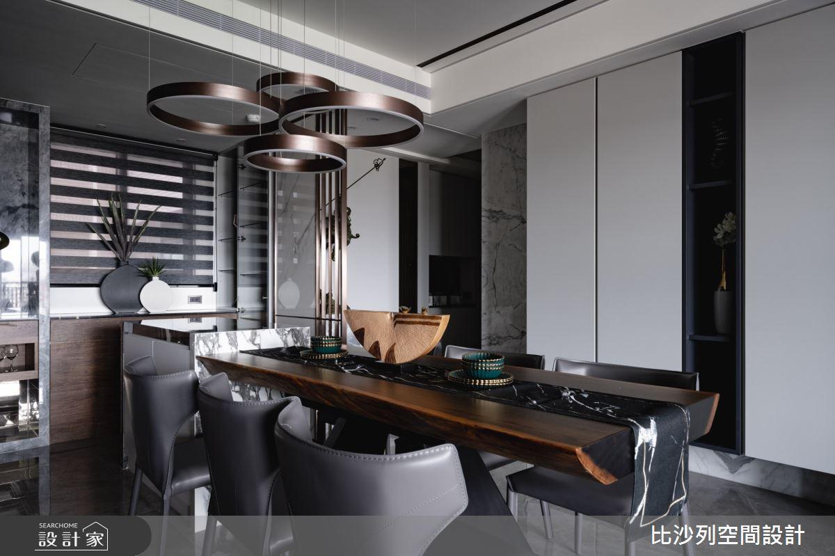 60坪預售屋_混搭風餐廳案例圖片_比沙列空間設計_比沙列_17之7