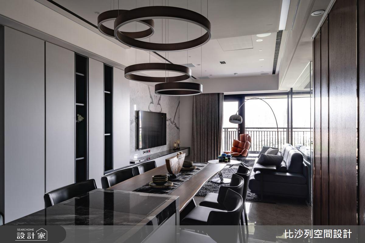 60坪預售屋_混搭風餐廳案例圖片_比沙列空間設計_比沙列_17之9