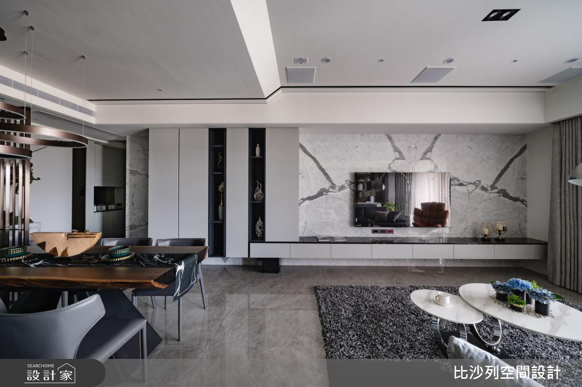 60坪預售屋_混搭風客廳案例圖片_比沙列空間設計_比沙列_17之10