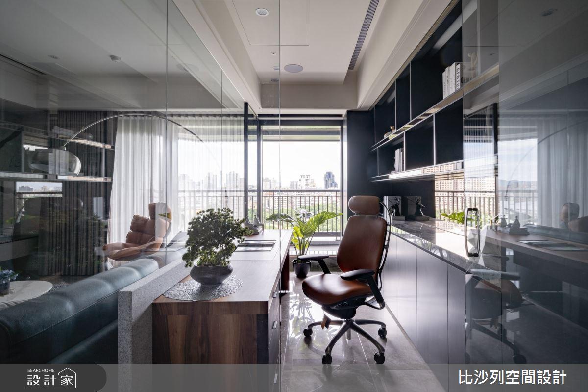 60坪預售屋_混搭風書房案例圖片_比沙列空間設計_比沙列_17之16