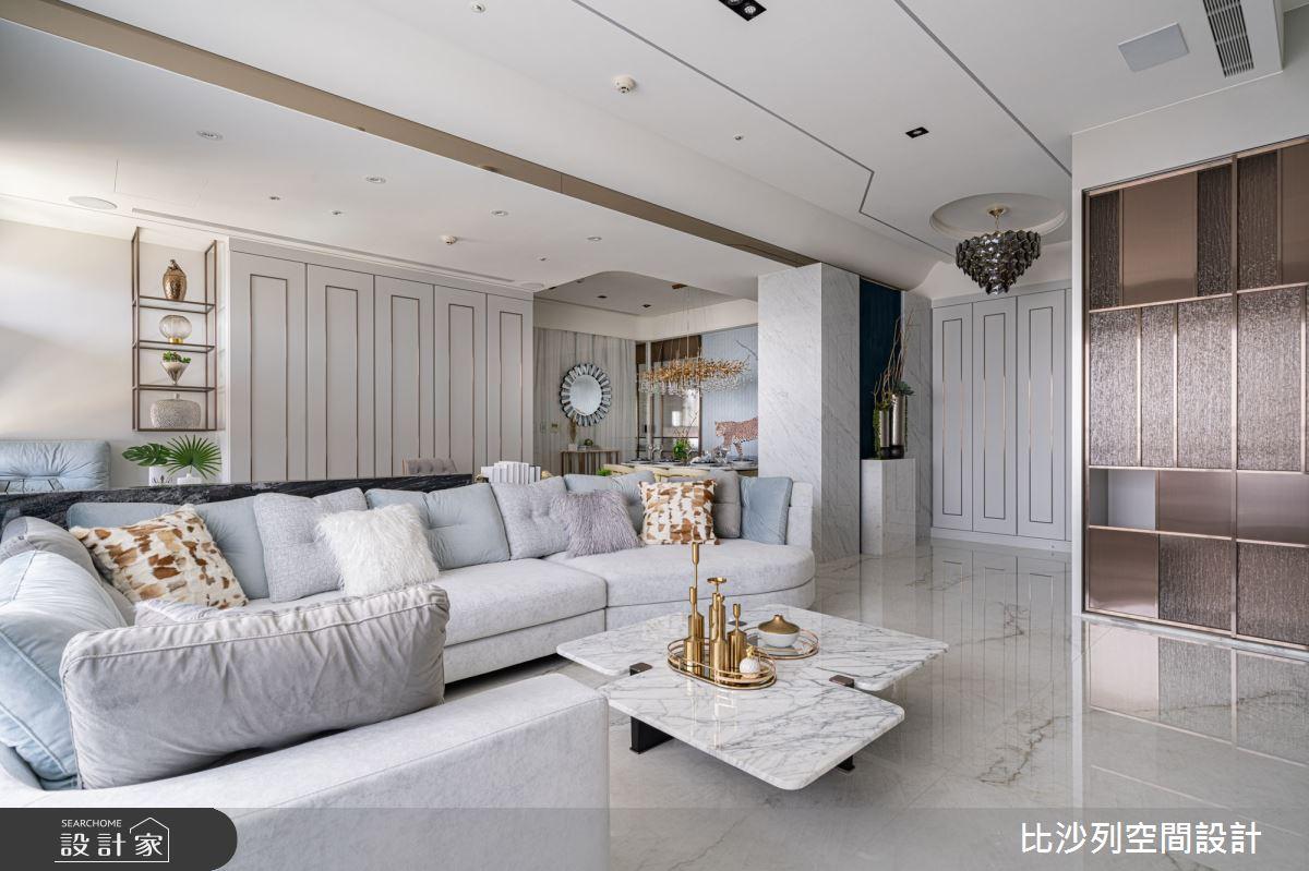 60坪預售屋_混搭風客廳案例圖片_比沙列空間設計_比沙列_18之7