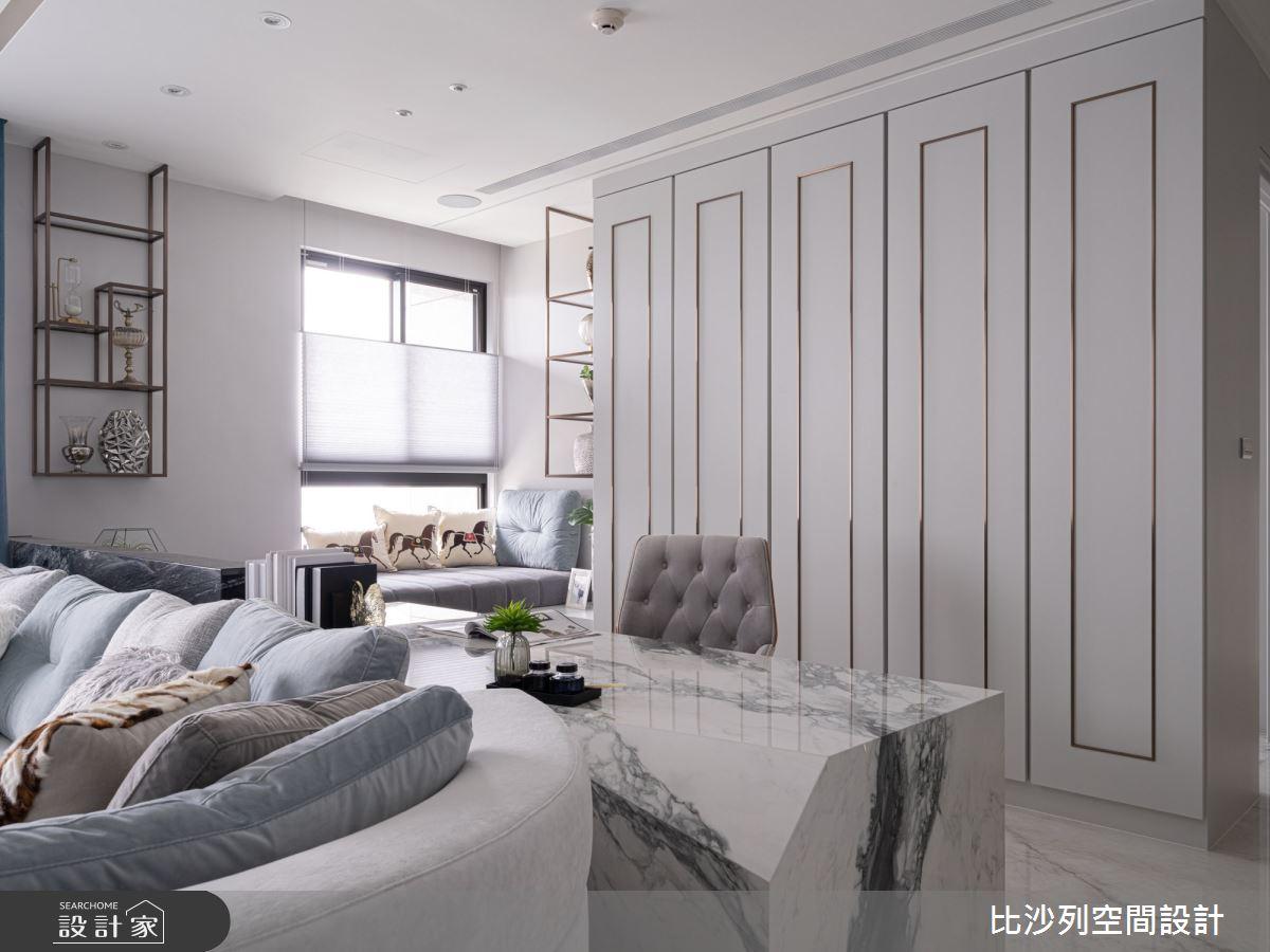60坪預售屋_混搭風書房案例圖片_比沙列空間設計_比沙列_18之13