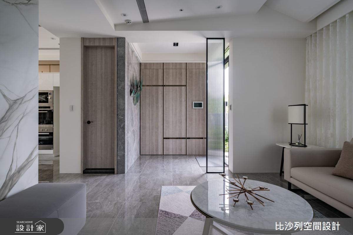 80坪新成屋(5年以下)_現代風客廳案例圖片_比沙列空間設計_比沙列_20之3