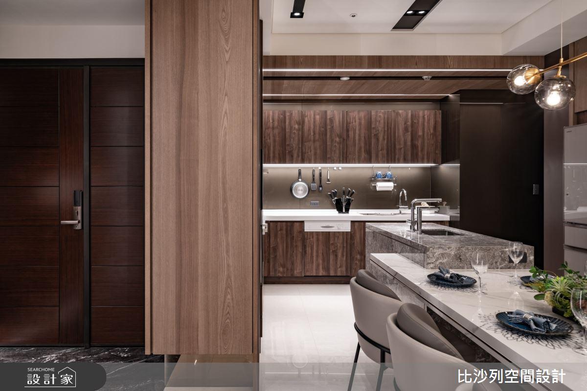 68坪新成屋(5年以下)_現代風玄關案例圖片_比沙列空間設計_比沙列_23之3