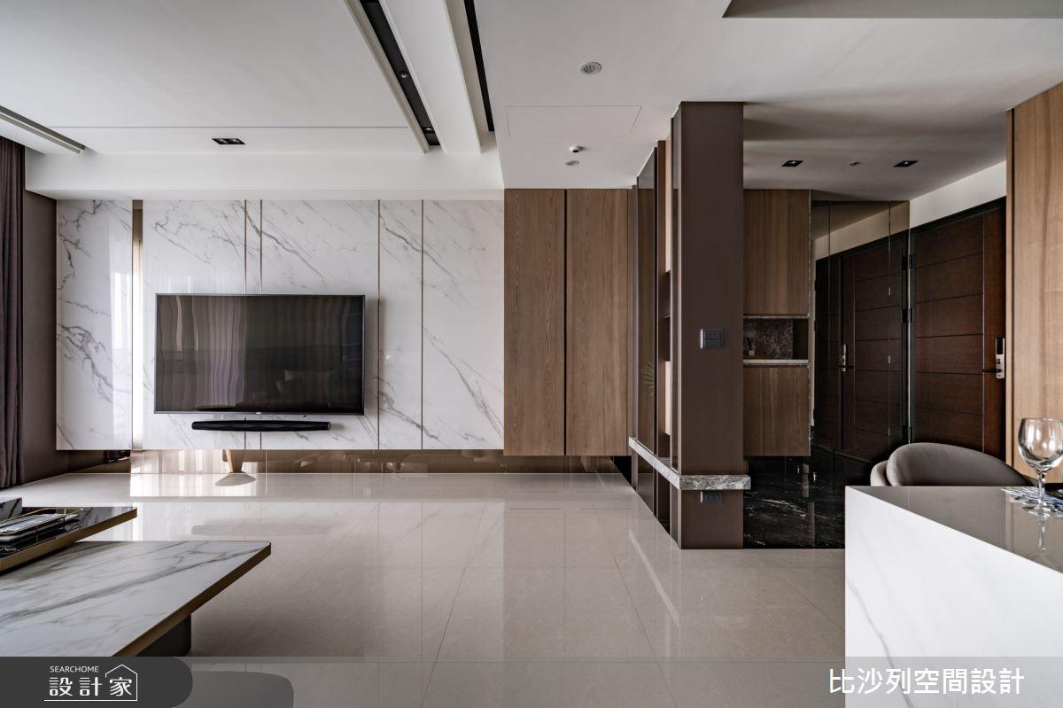68坪新成屋(5年以下)_現代風客廳案例圖片_比沙列空間設計_比沙列_23之4