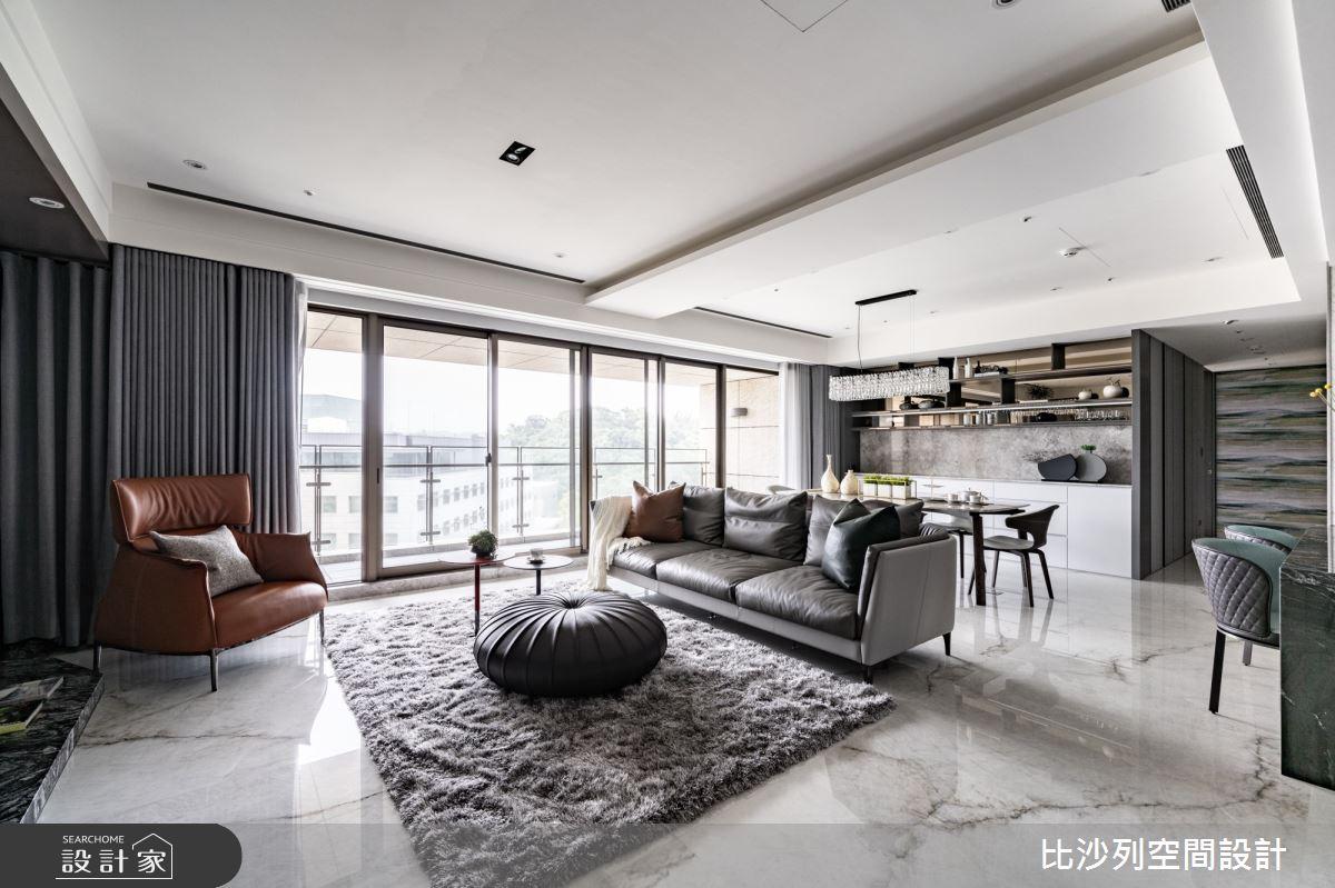 55坪新成屋(5年以下)_現代風案例圖片_比沙列空間設計_比沙列_25之4