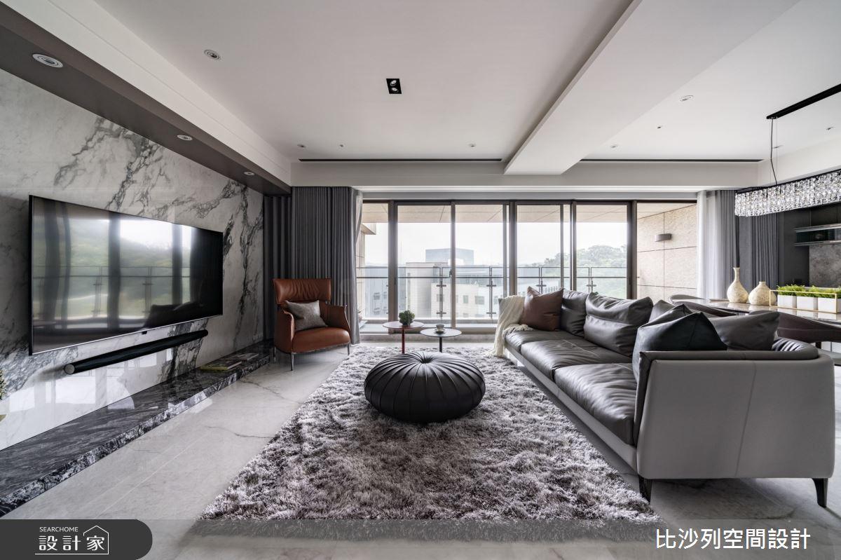 55坪新成屋(5年以下)_現代風案例圖片_比沙列空間設計_比沙列_25之5