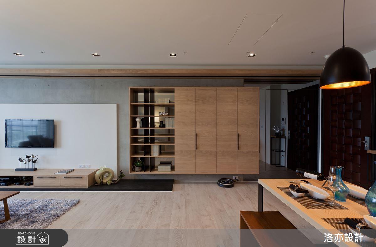 35坪新成屋(5年以下)_北歐風客廳案例圖片_洛亦設計 luò yì Interior Design_洛亦_01之1