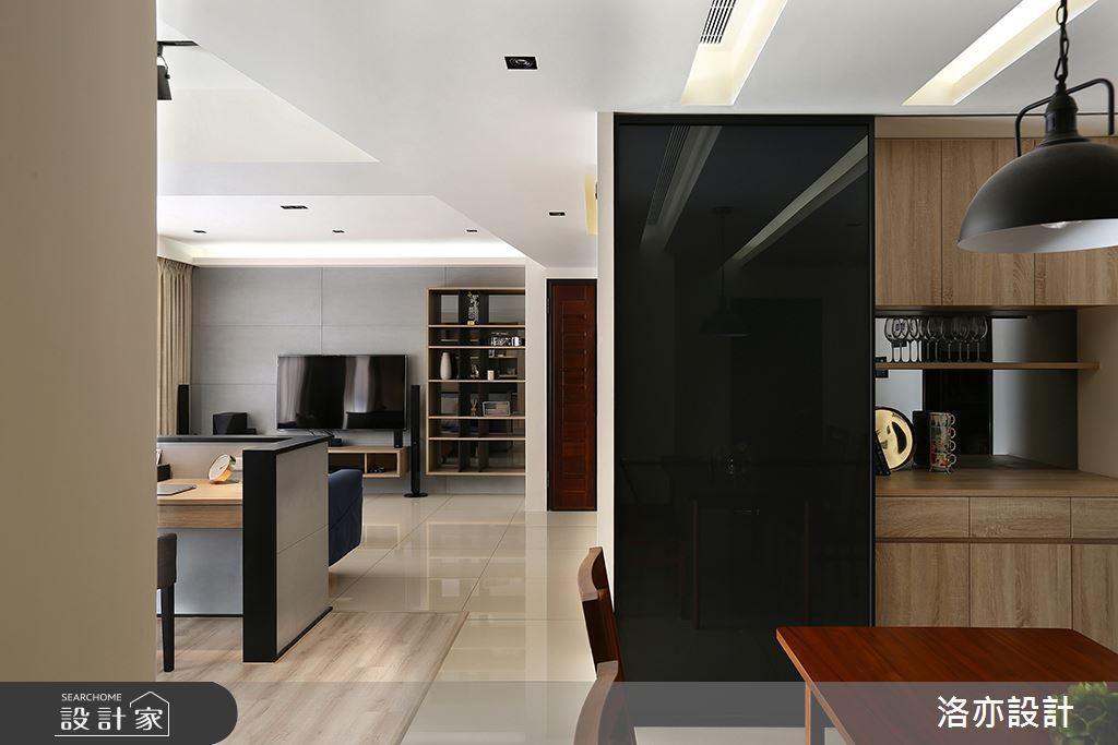 28坪新成屋(5年以下)_混搭風餐廳案例圖片_洛亦設計 luò yì Interior Design_洛亦_02之7