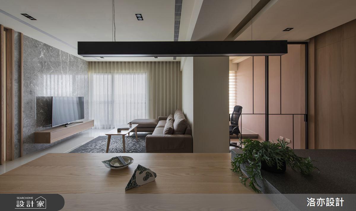35坪新成屋(5年以下)_北歐風餐廳案例圖片_洛亦設計 luò yì Interior Design_洛亦_03之8