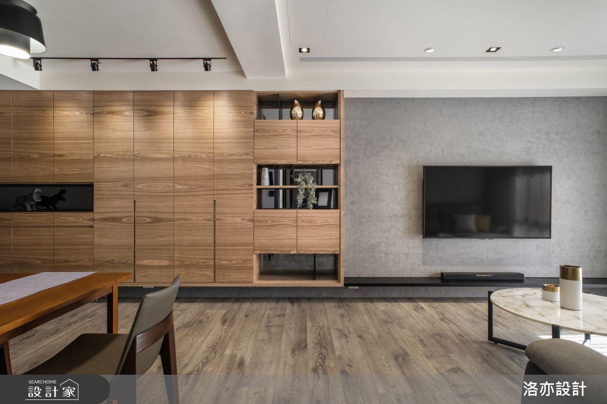 25坪新成屋(5年以下)_混搭風案例圖片_洛亦設計 luò yì Interior Design_洛亦_04之2