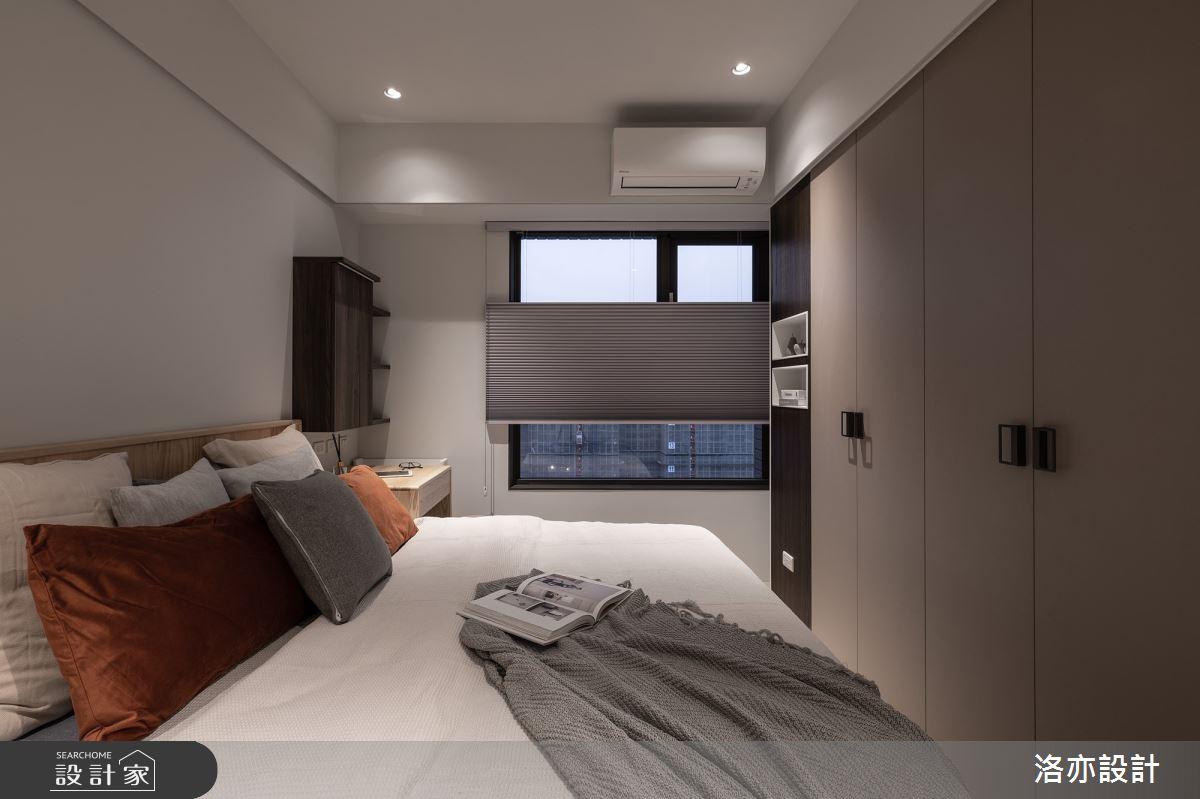 23坪新成屋(5年以下)_簡約風臥室案例圖片_洛亦設計 luò yì Interior Design_洛亦_05之14