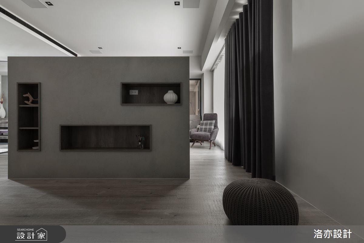 50坪新成屋(5年以下)_北歐風客廳案例圖片_洛亦設計 luò yì Interior Design_洛亦_07之2