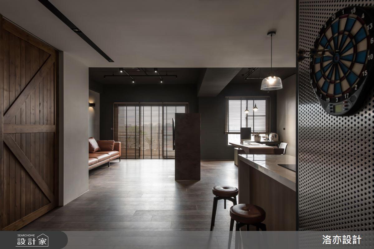 35坪新成屋(5年以下)_工業風吧檯案例圖片_洛亦設計 luò yì Interior Design_洛亦_08之2