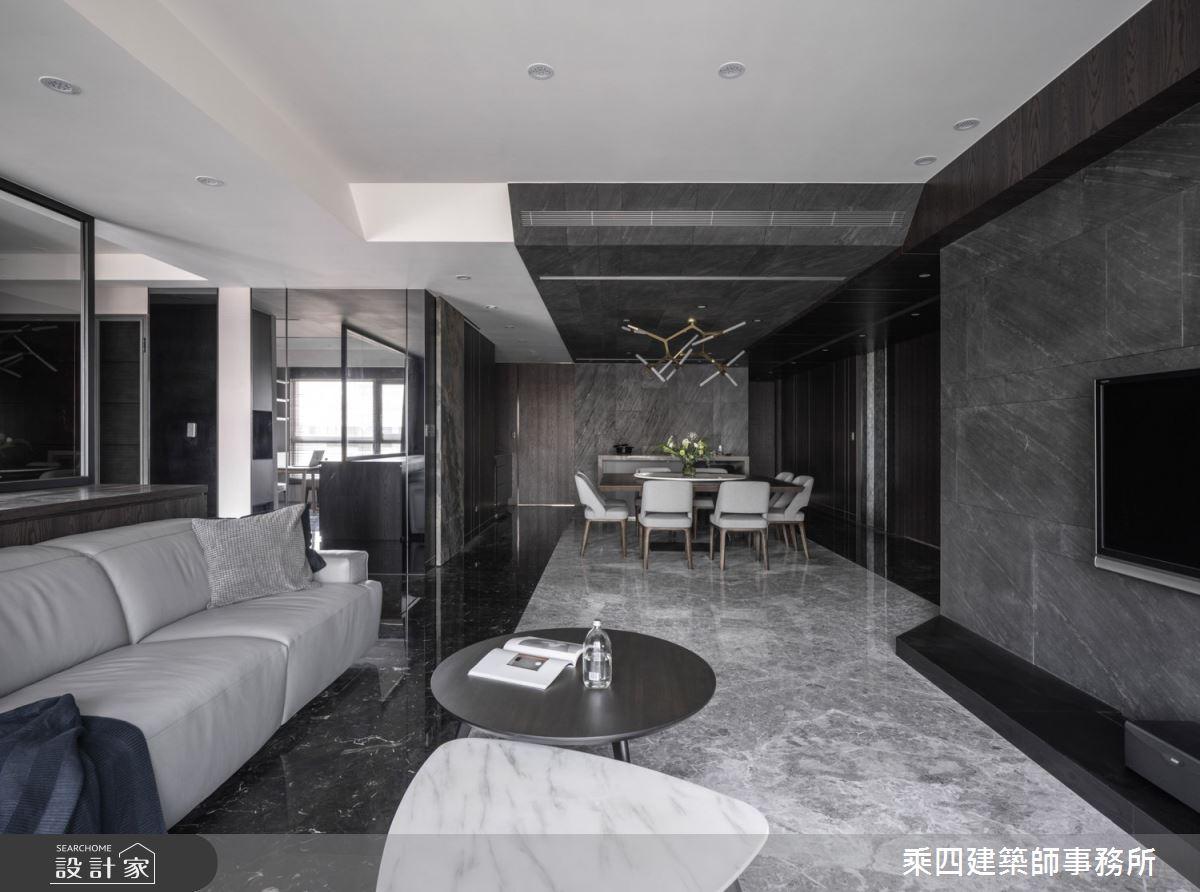 新成屋(5年以下)_現代風客廳案例圖片_乘四建築師事務所_乘四_34之1
