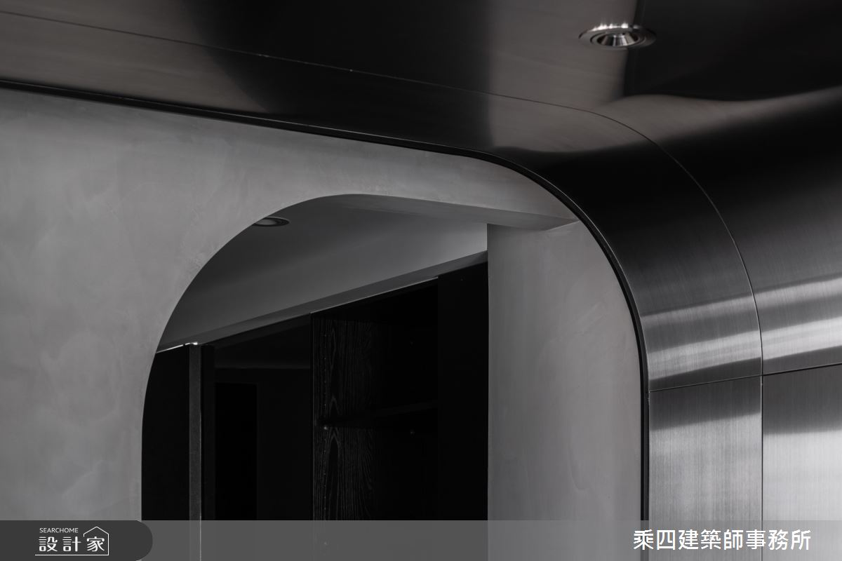 37坪新成屋(5年以下)_現代風玄關案例圖片_乘四建築師事務所_乘四_42之4