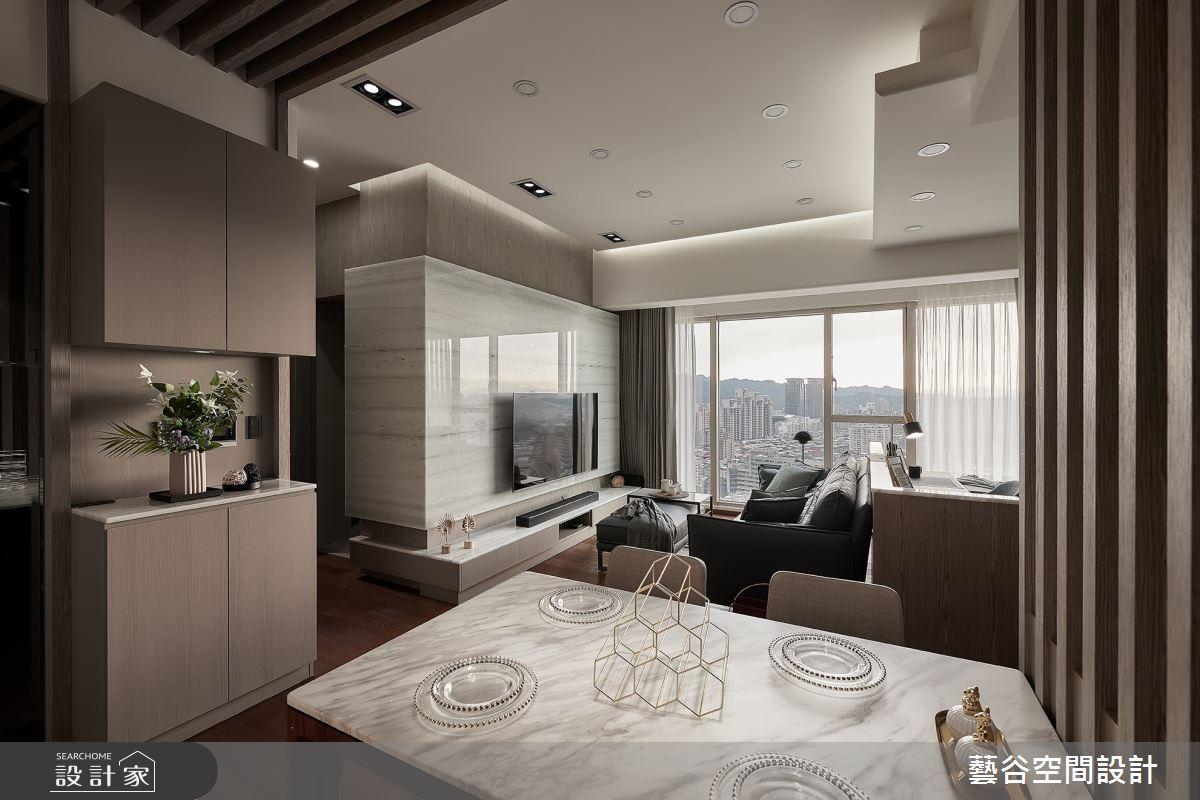 20坪新成屋(5年以下)_現代風客廳餐廳案例圖片_藝谷空間設計_藝谷_06之3
