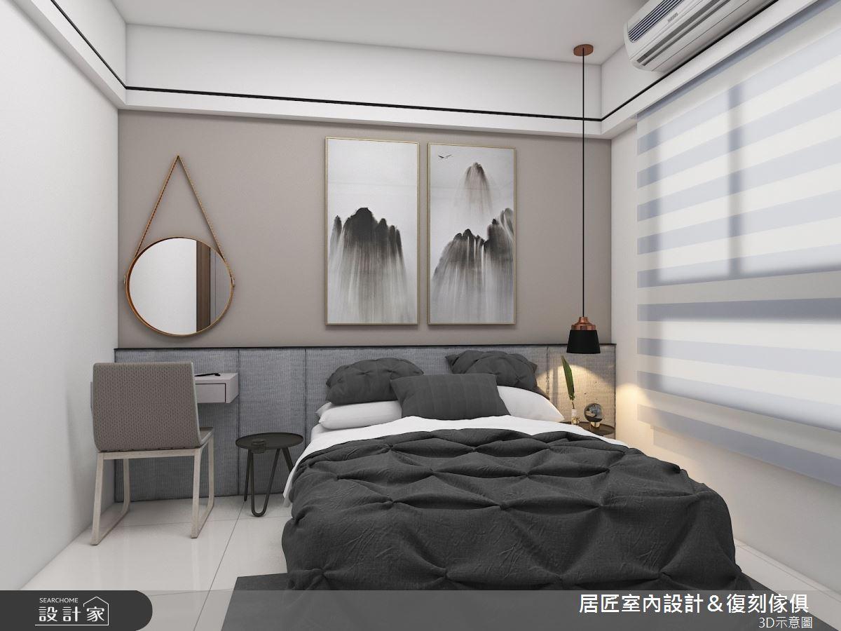 30坪新成屋(5年以下)_現代風臥室案例圖片_居匠室內設計&復刻傢俱_居匠_03之10