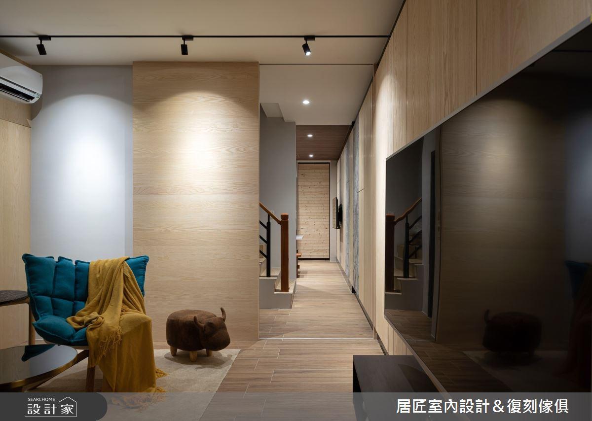 45坪老屋(16~30年)_混搭風客廳案例圖片_居匠室內設計&復刻傢俱_居匠_15之4