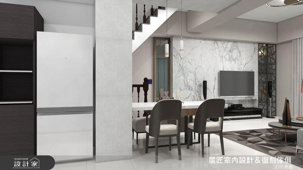 36坪中古屋(5~15年)_混搭風餐廳案例圖片_居匠室內設計&復刻傢俱_居匠_16之4
