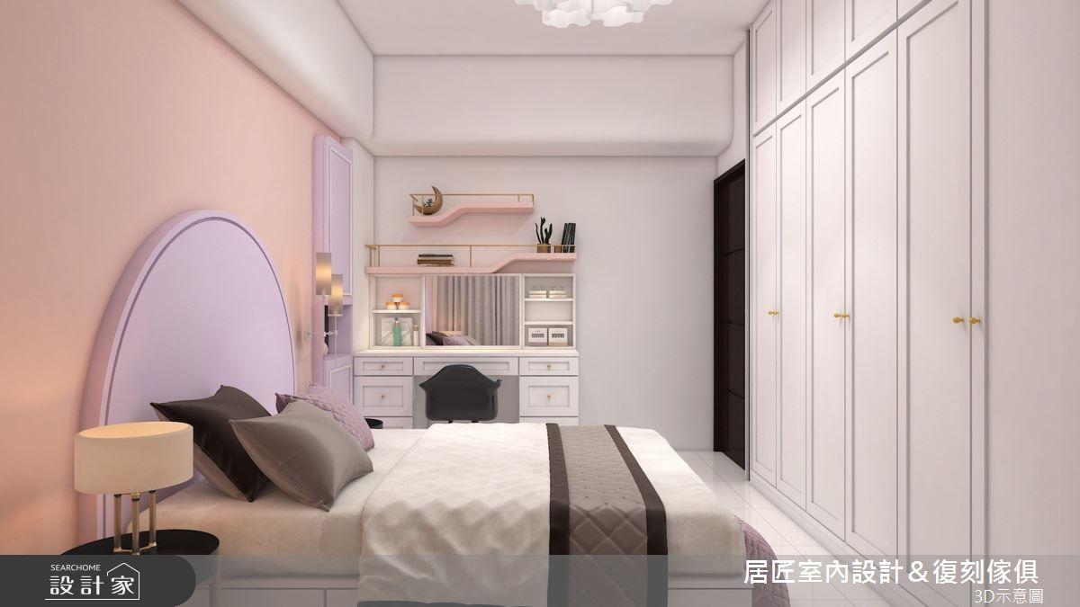 36坪中古屋(5~15年)_混搭風臥室案例圖片_居匠室內設計&復刻傢俱_居匠_16之9