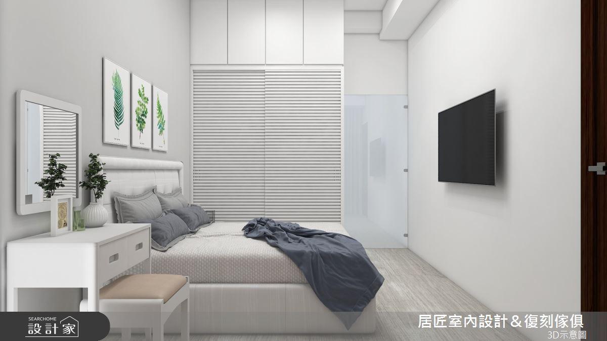 19坪新成屋(5年以下)_混搭風臥室案例圖片_居匠室內設計&復刻傢俱_居匠_20之7