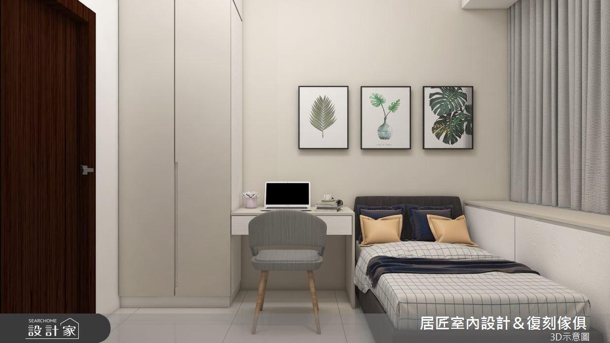 19坪新成屋(5年以下)_混搭風臥室案例圖片_居匠室內設計&復刻傢俱_居匠_20之10