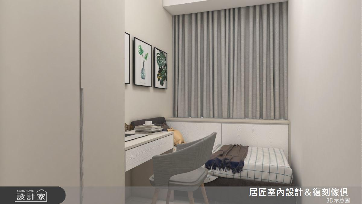 19坪新成屋(5年以下)_混搭風臥室案例圖片_居匠室內設計&復刻傢俱_居匠_20之9