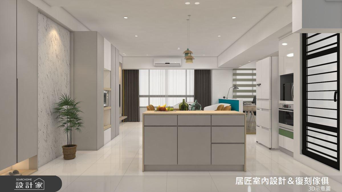 30坪新成屋(5年以下)_簡約風餐廳案例圖片_居匠室內設計&復刻傢俱_居匠_25之4