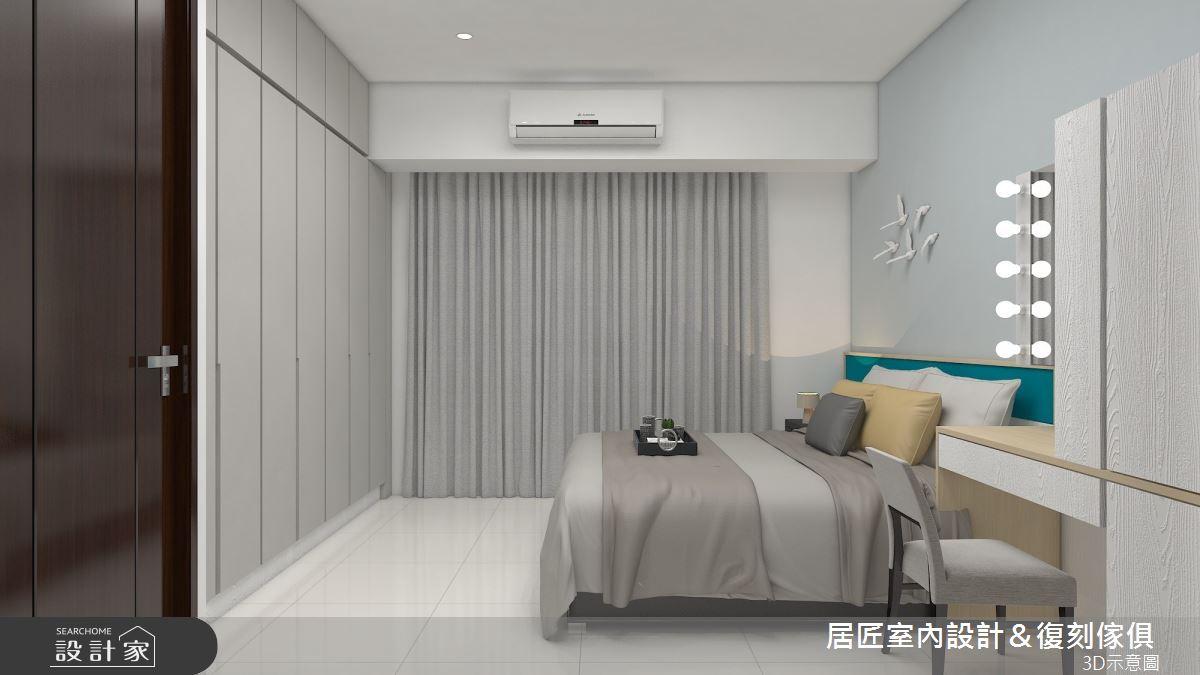 30坪新成屋(5年以下)_簡約風臥室案例圖片_居匠室內設計&復刻傢俱_居匠_25之7