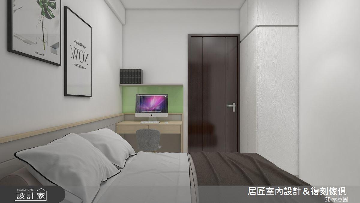 30坪新成屋(5年以下)_簡約風臥室案例圖片_居匠室內設計&復刻傢俱_居匠_25之10