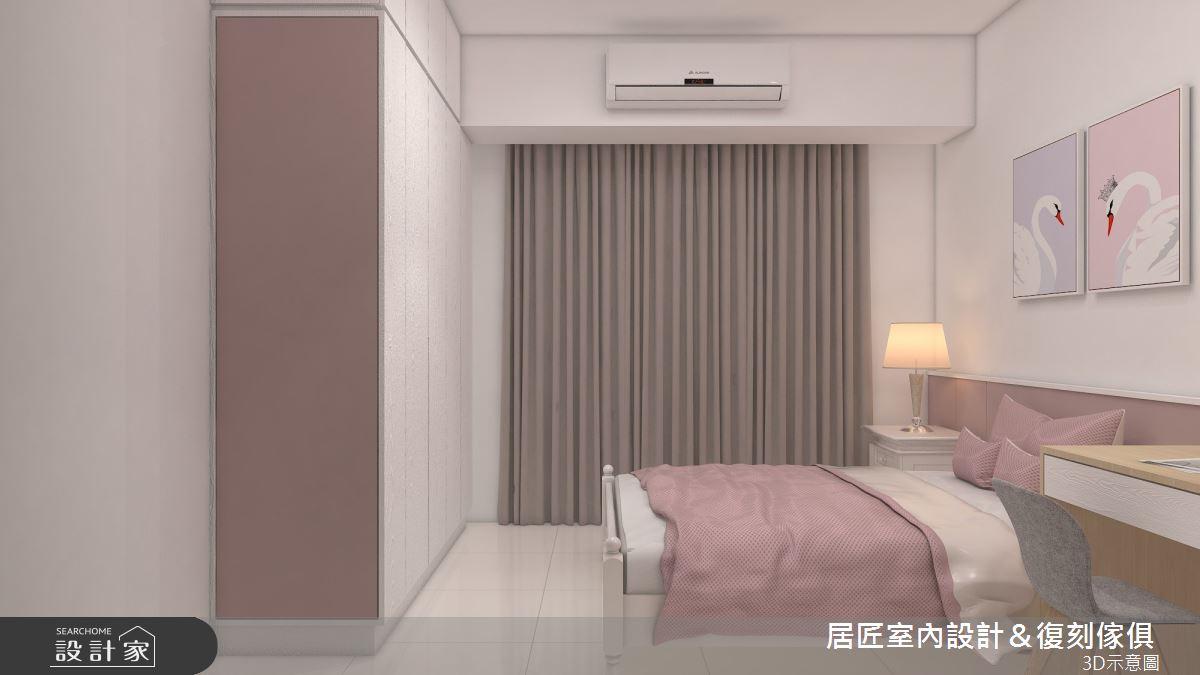 30坪新成屋(5年以下)_簡約風臥室案例圖片_居匠室內設計&復刻傢俱_居匠_25之11