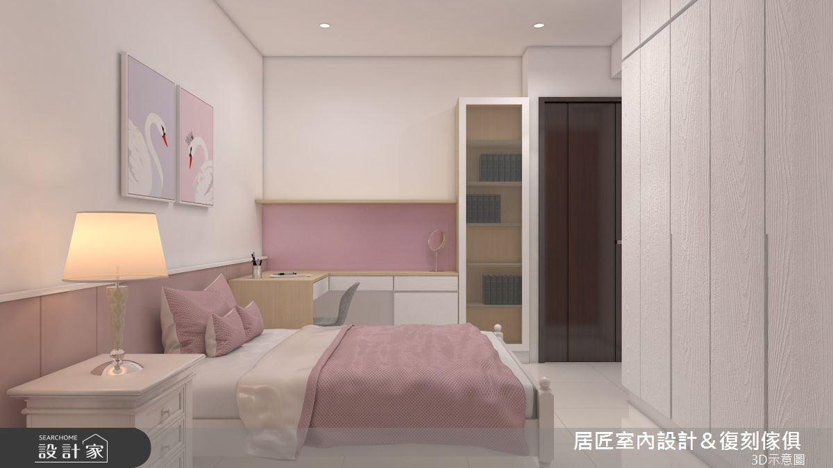 30坪新成屋(5年以下)_簡約風臥室案例圖片_居匠室內設計&復刻傢俱_居匠_25之12