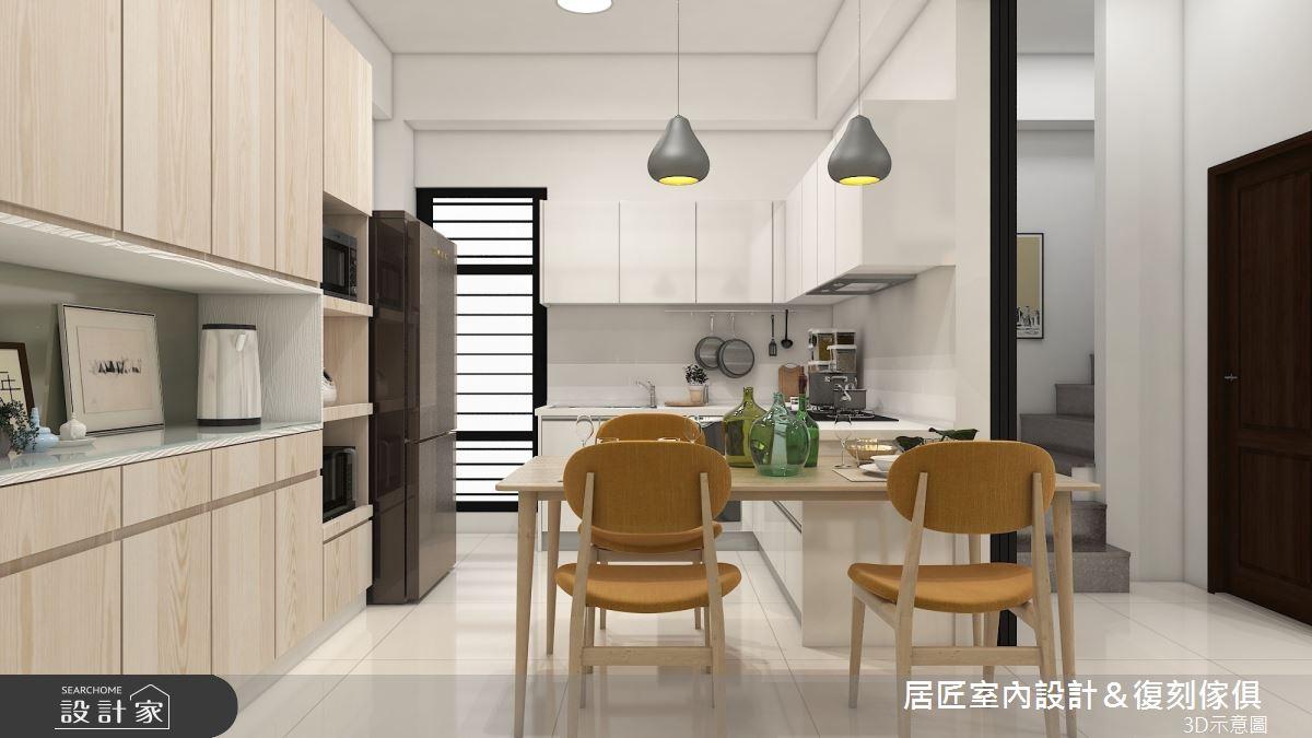 45坪新成屋(5年以下)_簡約風餐廳案例圖片_居匠室內設計&復刻傢俱_居匠_26之5