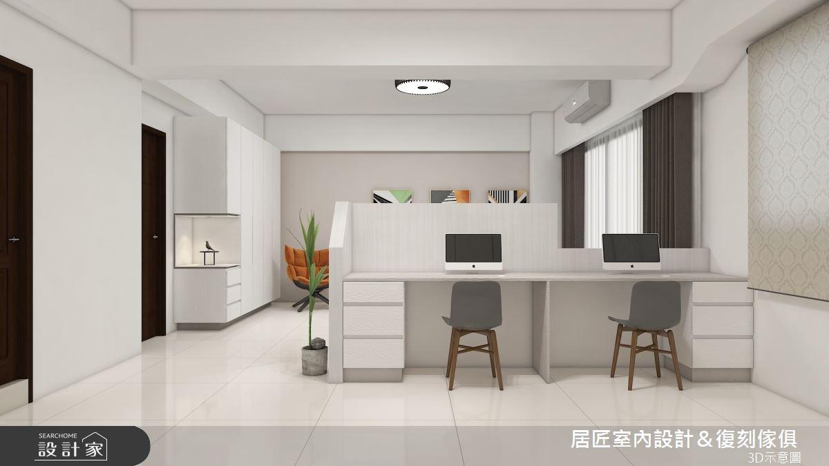 45坪新成屋(5年以下)_簡約風臥室案例圖片_居匠室內設計&復刻傢俱_居匠_26之9