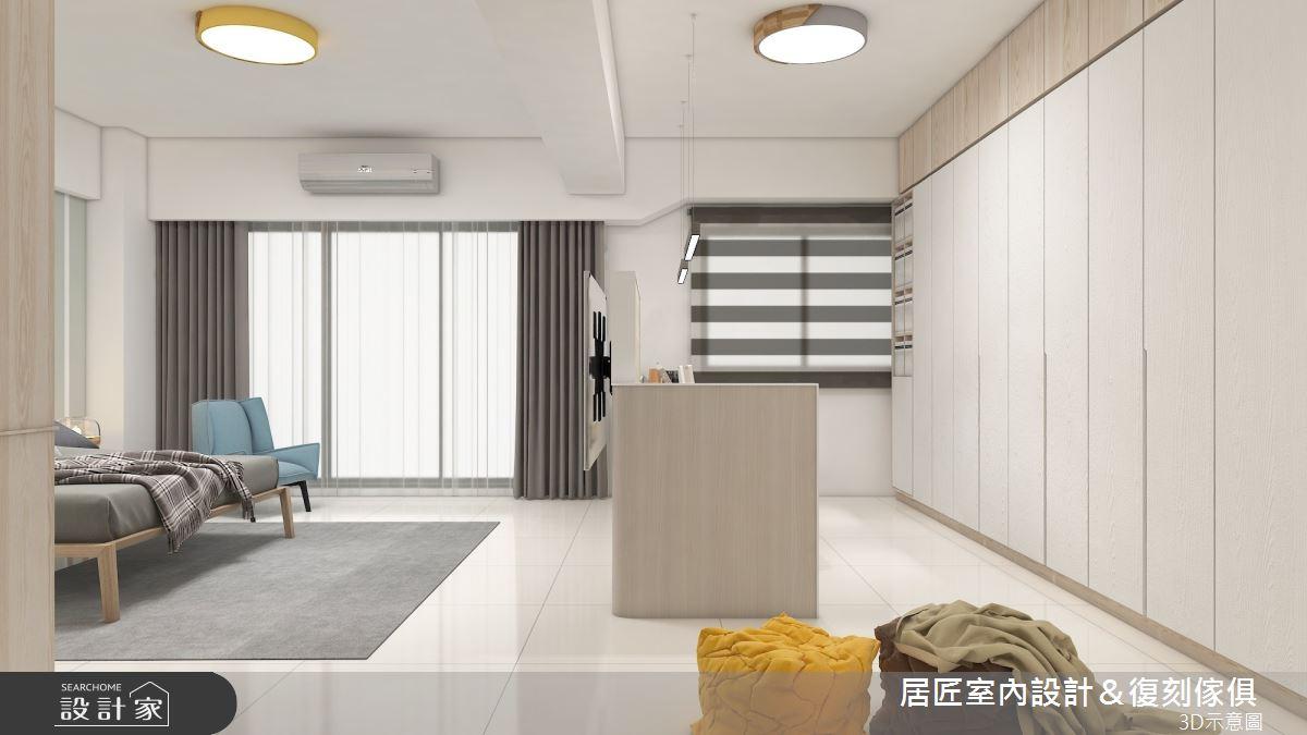 45坪新成屋(5年以下)_簡約風臥室案例圖片_居匠室內設計&復刻傢俱_居匠_26之10